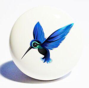 Image Is Loading HUMMINGBIRD HOME DECOR CERAMIC KITCHEN KNOB DRAWER CABINET