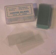 Microscope Slides Cover Glass Slip 2350 Mm 100 Pcs 1x2 New