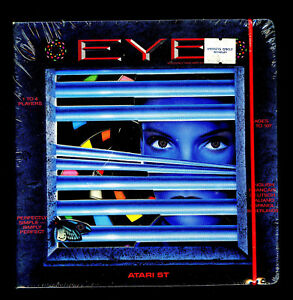 Details about Eye Vintage Videogame Atari St New Sealed SIB Published by  Endurance Games