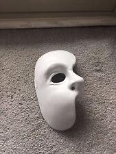 Phantom Of The Opera 1/2 Mask  New