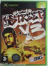 Jeu NBA STREET V3 sur microsoft XBOX 1 francais sport basket enfant vintage