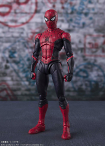 BANDAI-S-H-Figuarts-Spider-Man-Far-From-Home-SPIDERMAN-UPGRADED-SUIT-figure