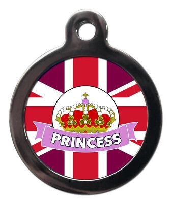 Bello Personalizzato Matrimonio Reale Pet Id Tag-principessa Cane Gatto Nome Id Tag-personalizzato Gratis-sed Free It-it Mostra Il Titolo Originale Aspetto Elegante