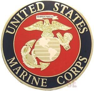 Image Is Loading USMC Marine Corps Lapel Pin W Eagle Globe