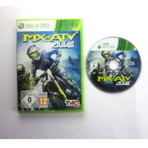Xbox-360-Jeu-MX-vs-Atv-Alive-Emballage-D-039-Origine-sans-Manuel-Aa