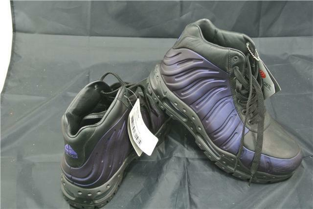 finest selection 075b4 72110 NIKE FOAMPOSITE TRAINERS SIZE UK PURPLE BLACK BOOTS EDITION RARE ACG 8  SPECIAL nxvmgk4898-Men s Athletic Shoes