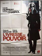 Affiche L'IVRESSE DU POUVOIR Claude Chabrol ISABELLE HUPPERT 120x160cm *