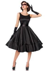 Abiti Eleganti Anni 50.Abito Femminile Anni 50 Elegante Classico Vintage Retro Vestito Nero