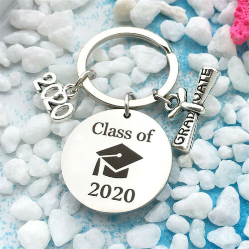 2020 My Story Is Just Beginning Graduation Diploma Keychain Key Rings Keyfob 8C