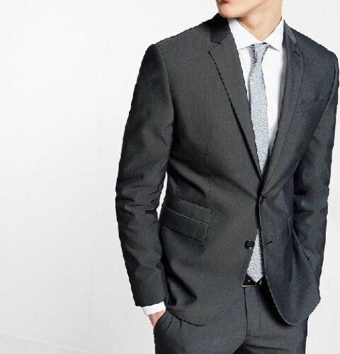 New Men's Express Photographer 44R Suit Dark Grey Stylish
