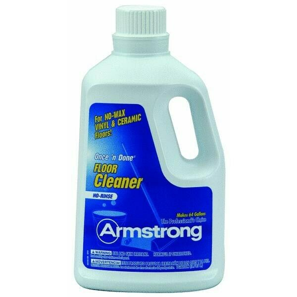 Armstrong Once And Done Resilient Ceramic Floor Cleaner Concentrate 1 Gallon
