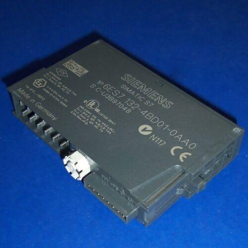 SIEMENS SIMATIC 24VDC 0.5A DIGITAL OUTPUT MODULE 6ES7 132-4BD01-0AA0 *PZF*