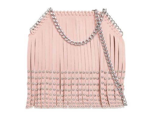 Ladies Studded Fringe Cross Body Bag Tassel Messenger Bag Shoulder Handbag KL766