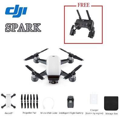 DJI Spark Camera Drone & GET Remote Controller FREE- Alpine White