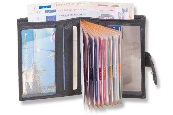 + Super kompakte Geldbörse für bis zu 14 Kreditkarten 4680609