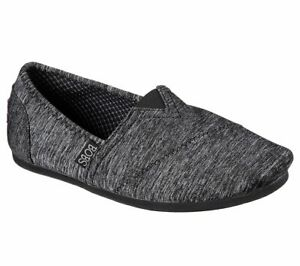 Skechers-Women-BOBS-Plush-Express-Yourself-Slip-On-Memory-Foam-Flats-Shoes-33910