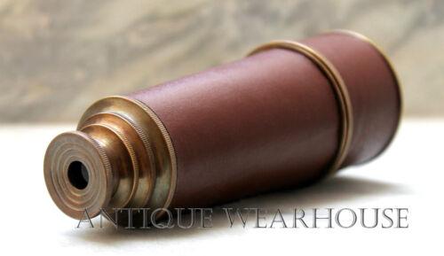 Handmade Spyglass Antique Brass Pirate Spyglass Telescope Vintage Marine Scope G