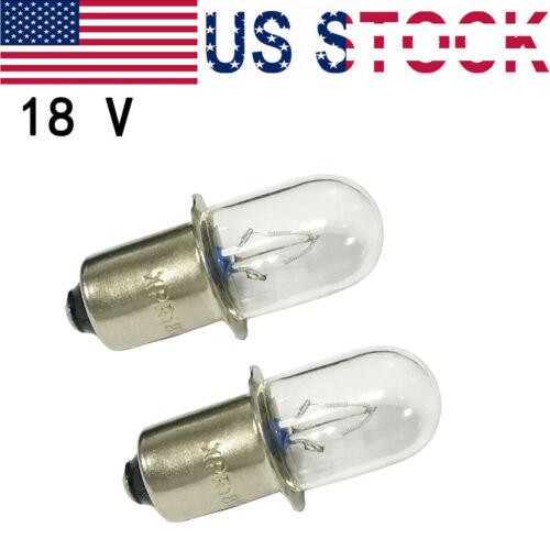 2//12 Pcs For Ryobi Ridgid 780204001 18V 0.65A R859 R849 FL1800 xenon light bulb