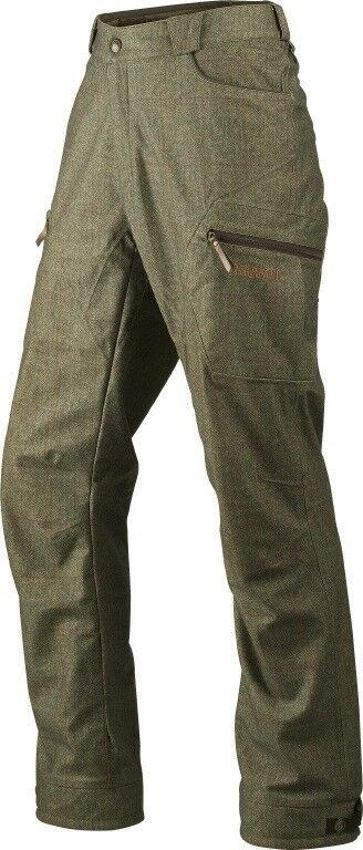 New  Härkila Hunting Trousers Stornoway Active - Cottage Green - Membrane