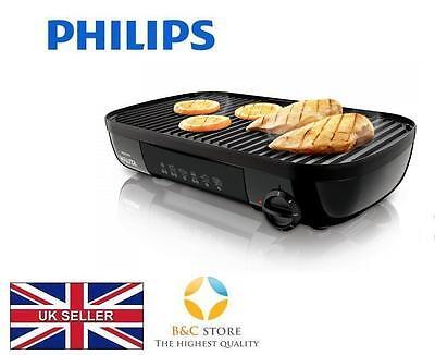 Philips HD4419//20 Table Grill 2300 W Côtelé Lisse plaque