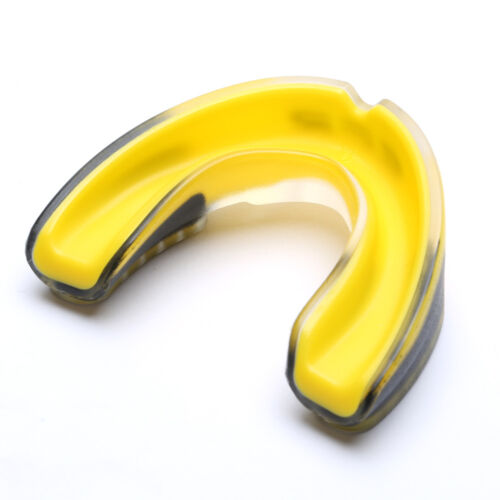 NEW Mouth Guard Gum Shield Teeth Protector Boxing Karate Football Rugby w// Case