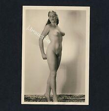 #238 RÖSSLER AKTFOTO / NUDE WOMAN STUDY * Vintage 1950s Studio Photo - no PC !