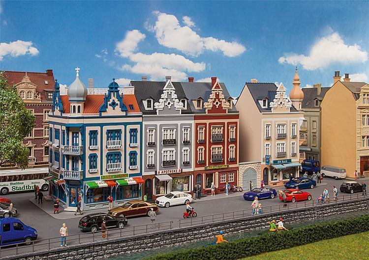 nuevo embalaje original ciudad de casas fila Beethovenstrasse Faller h0 130701