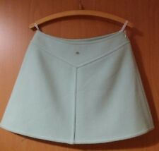 courreges paris pastel green skirt 40