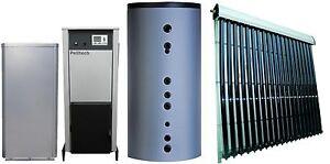 pelletheizung pelltech 20 kw set mit 800 liter hygienespeicher und 9 qm solar ebay. Black Bedroom Furniture Sets. Home Design Ideas