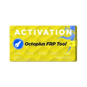Details about Octoplus FRP Tool Activation
