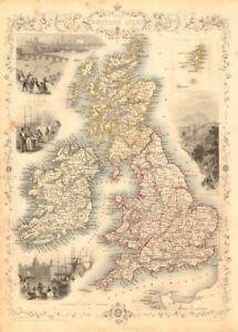 British Isles Counties England Wales Scotland Ireland Rapkin