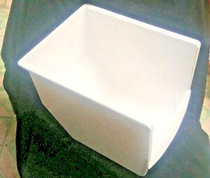 Frigidaire-Refrigerator-FRS26R4CW0-Lower-Freezer-Basket-240530402-white