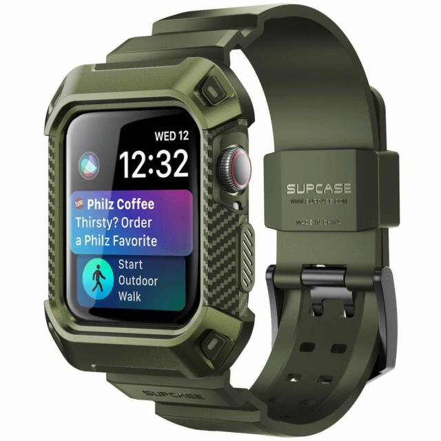 For Apple Watch Case 38mm Tpu Rugged Protective With Strap Bands Ships For Sale Online Ebay