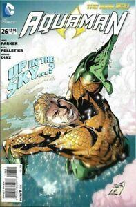 AQUAMAN FUTURES END #1 STANDARD COVER NOV 2014 MERA DC NEW 52 NM COMIC BOOK 2