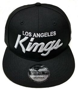 Los-Angeles-Kings-New-Era-9Fifty-Basic-Vintage-Script-Eazy-E-NWA-Snapback-NHL