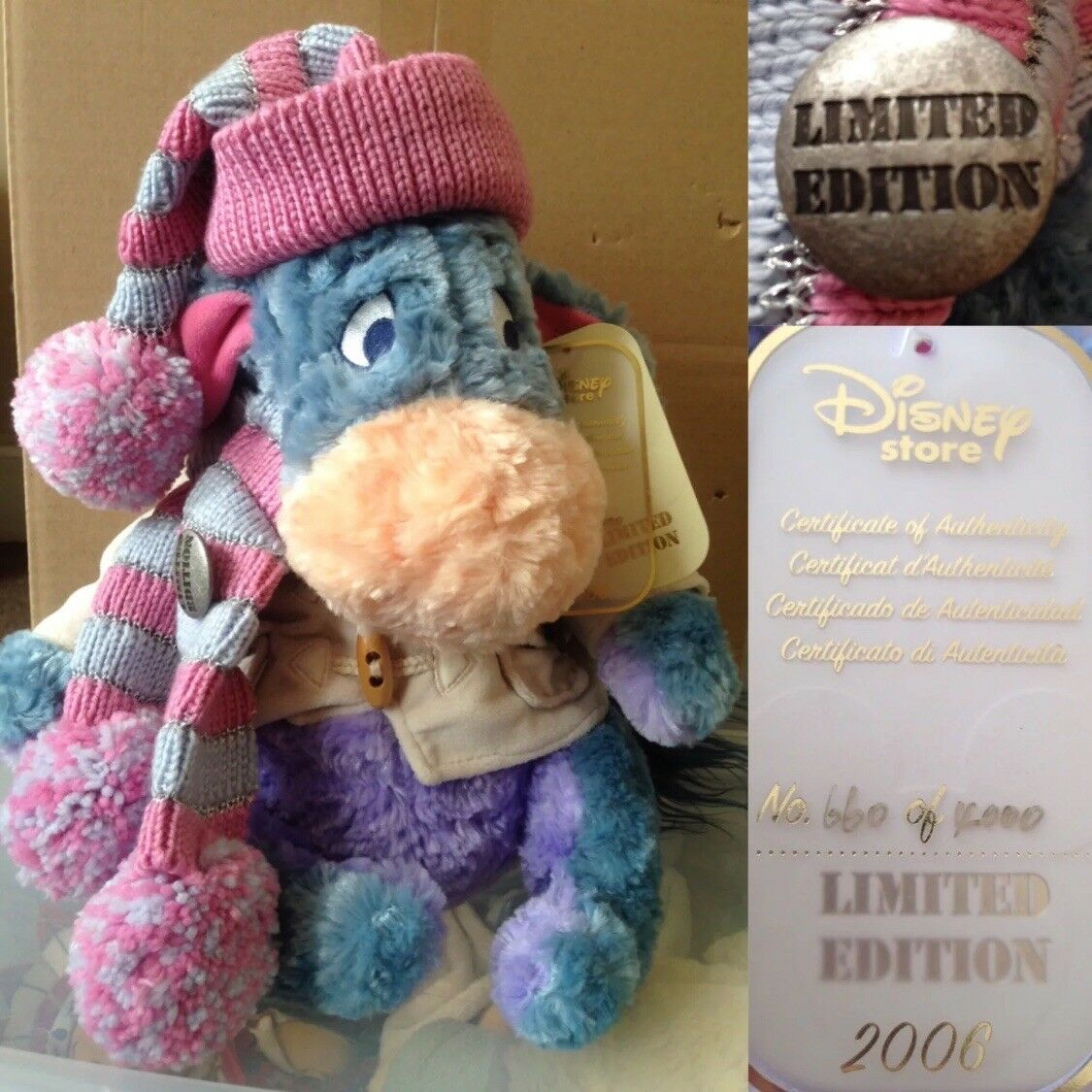 Limited Limited Limited Edition Winnie The Pooh Bundle 17179e