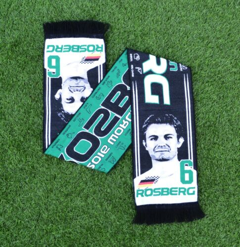 F1 Nico Rosberg Formula One Scarf Gift Souvenir German World Champion 2016