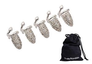 Bundle-Monster-5pc-Women-Girls-Fashion-Popular-Finger-Nail-Ring-Punk-Design