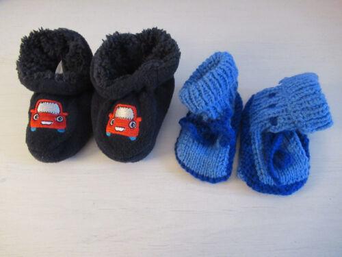 Baby Garçons Tricot De Chaussettes Socquettes Erstling Chaussettes Chaussettes Chaussures Tricot Chaussures