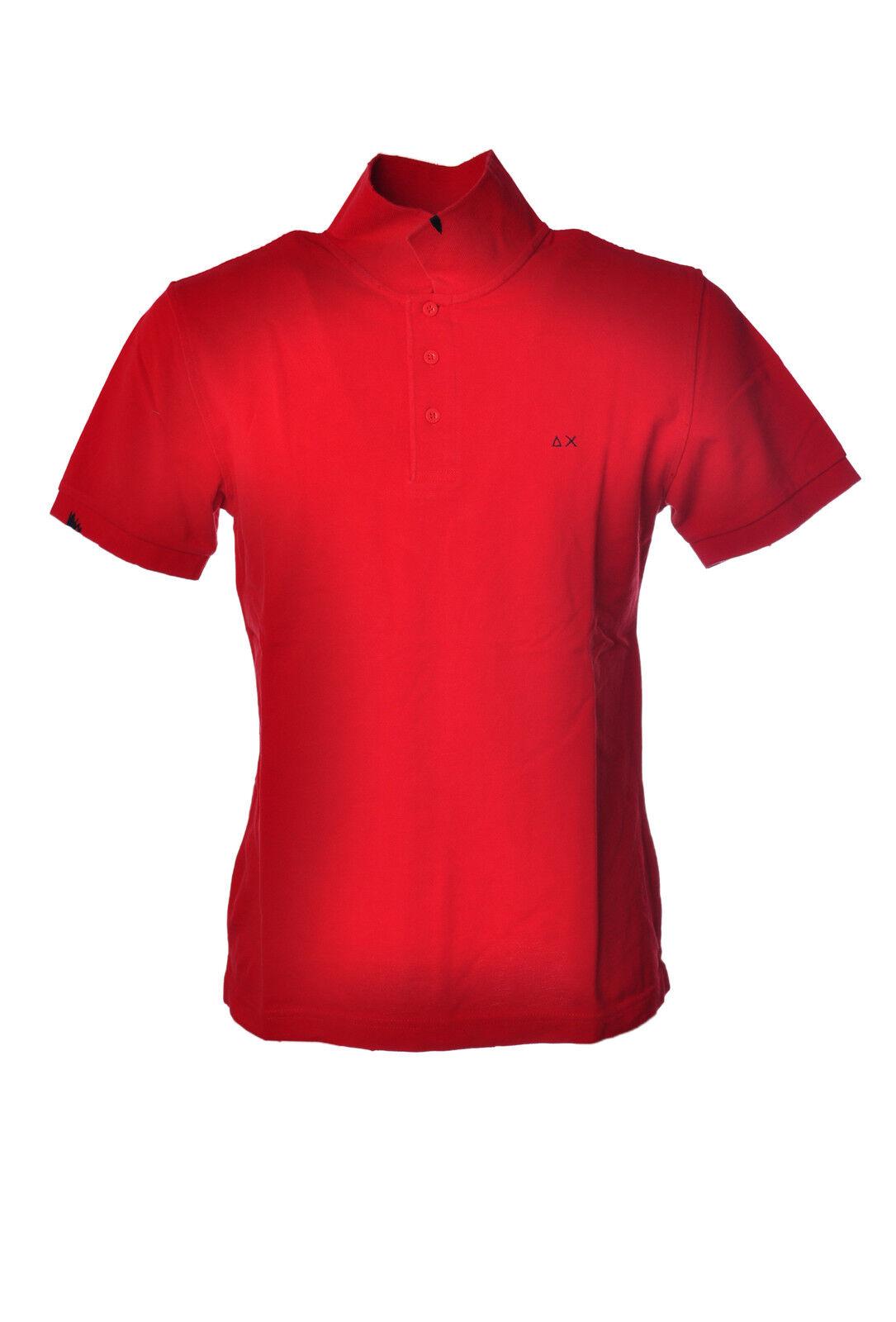 Sun 68 - - Topwear-Polo - Man - rosso - 68 3186710H184252 8275fe