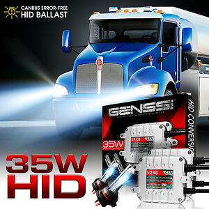 genssi hid xenon conversion kit bulbs for kenworth t370 t660 t600 T680 Kenworth Wiring Harness