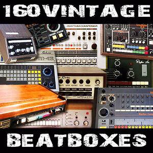 vintage drum machine beatboxes fl studio 11 reason cubase 8 soundfonts sf2 rap ebay. Black Bedroom Furniture Sets. Home Design Ideas