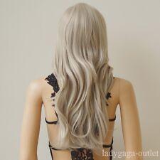US Long Cosplay Wig Straight Curly Wavy Women Lady Full Wig Halloween Anime Hair