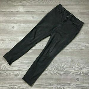 Express-Mid-Rise-Stretch-Black-Ankle-Jeggings-Skinny-Jeans-Women-039-s-Sz-8-C12