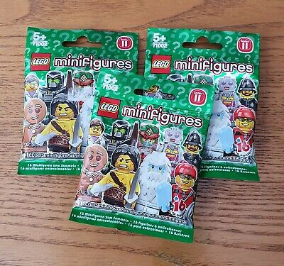 SEALED ONE BLIND BAG LEGO 71002 SERIES 11 MINIFIGURES NEW