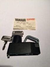 YAMAHA YB50 YB100 1973 1974 1975 1976 1977 Helmet Holder W/ Key N.O.S
