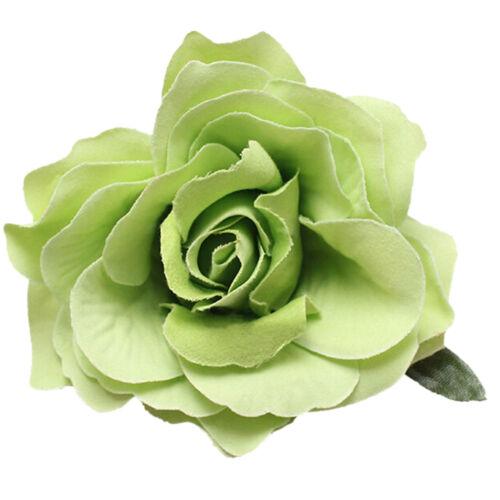 Bridal Rose Flower Hairpin Brooch Wedding Bridesmaid Accessories Hair Clip Sw MA