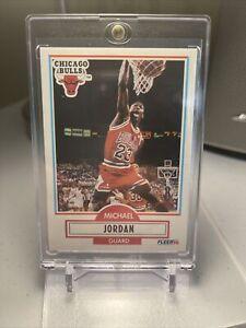 MICHAEL JORDAN 1990-91 90-91 Fleer #26 Chicago Bulls RARE MINT CENTERED