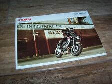 Catalogue /  Brochure YAMAHA XSR / SCR 950 / XV 950R  2018  //