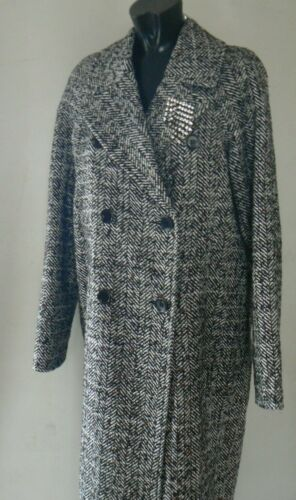 Breasted 10 Heritage Double Tags Coat New Size River Island 16 tYAxqA